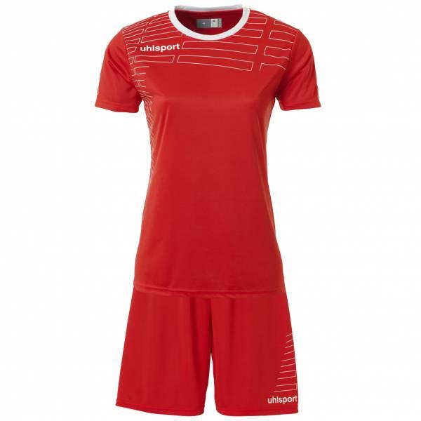 Uhlsport Match Damen Fußball Set Trikot mit Shorts 100316801