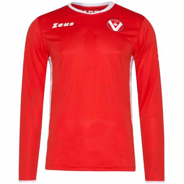 Varese Calcio SSD Zeus Herren Heim Langarm Trikot VAR-11