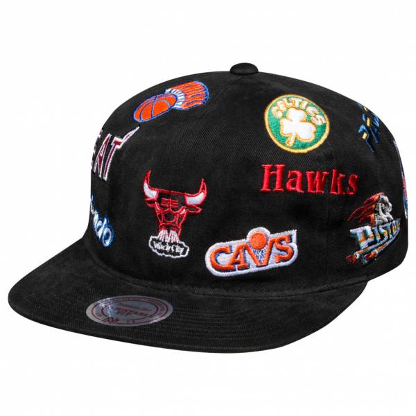 Mitchell & Ness All-Over Eastern Conference Berretto 6LUSNG18365-NBABLCK