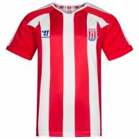 Stoke City FC Warrior Kinder Heim Trikot WSTJ493-HRW