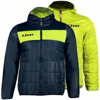 Zeus Giubbotto Apollo 2in1 Herren Wendejacke Navy Neon