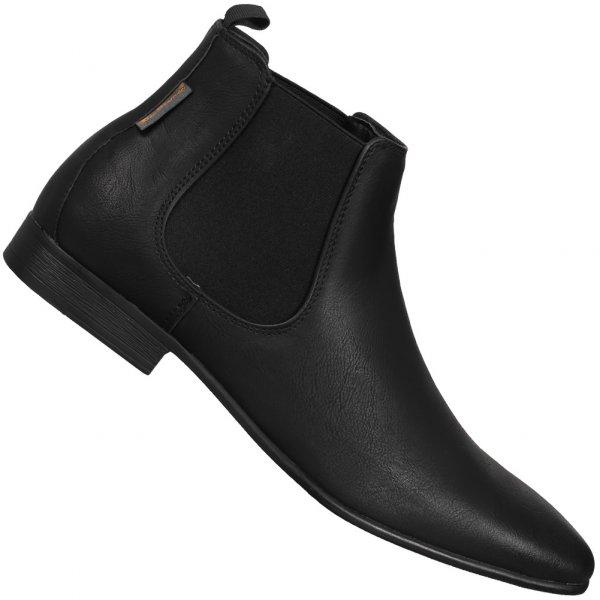 BEN SHERMAN Ashorne Fashion Chelsea Boots Herren Schuhe black