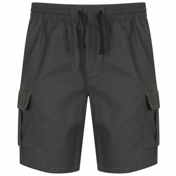 Tokyo Laundry Discovery Cotton Herren Cargo Shorts 1G10659 Dark Shadow
