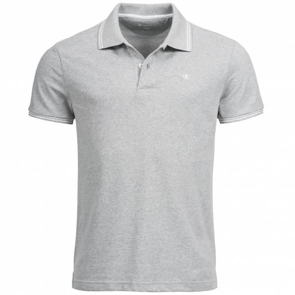 Champion Herren Polo-Shirt hellgrau