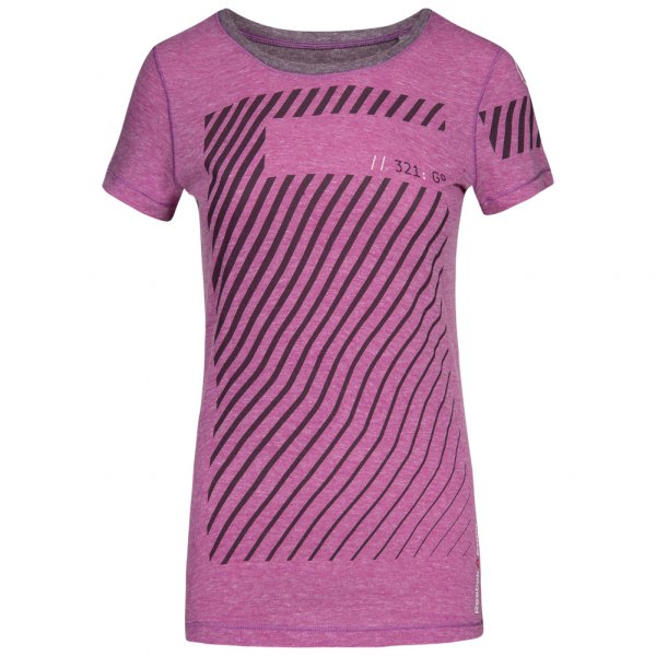 Reebok CrossFit Training Graphic Damen Fitness Shirt AB4211