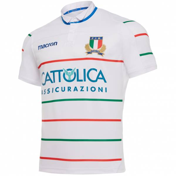 Italy FIR macron Rugby Men Away Jersey 58097812