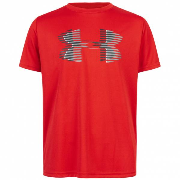 Under Armour Tech Big Logo Solid Kinder T-Shirt 1331687-600