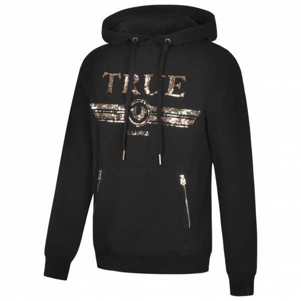 True Religion Trucci Sequin Herren Hoodie M19HF27N7G-4005