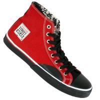 Vision Street Wear Schuhe Canvas Hi red/black