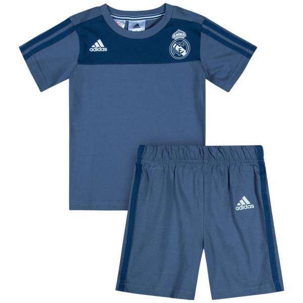 77fa2cdef Real Madrid adidas Baby Jersey   Shorts Set Mini Kit AP1854 ...