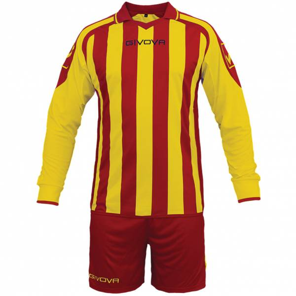Givova Kit Rumor Fußball Set Langarm Trikot + Short KITC25-1207