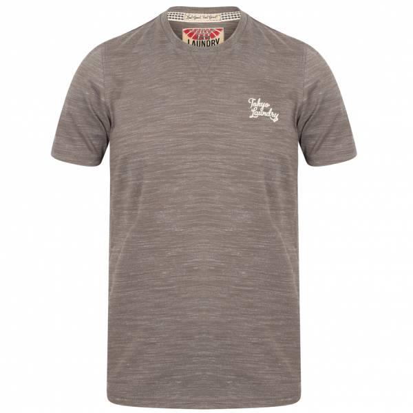 Tokyo Laundry Sun Lake Crew Neck Herren T-Shirt 1C11006 Antique Gunmetal