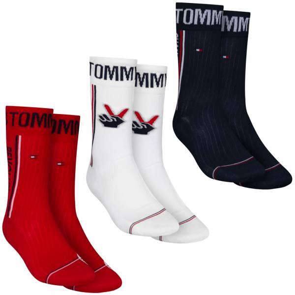 """Tommy Hilfiger Lot de 3 """"Tommy Cares"""" Chaussettes dans une boîte cadeau 391985001-105"""