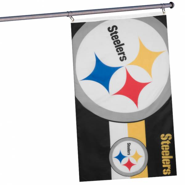 Pittsburgh Steelers NFL horizontale Fan Flagge 1,50m x 0,90m FLG53NFHORPS