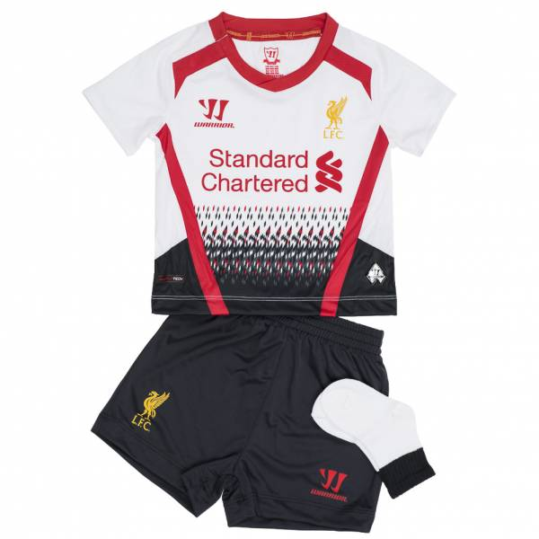 Liverpool FC Warrior Baby Mini Kit Away Football Kit WSTB309-WT
