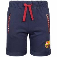 FC Barcelona 1899 Kinder Bermuda Sweat Shorts FCB-3-385