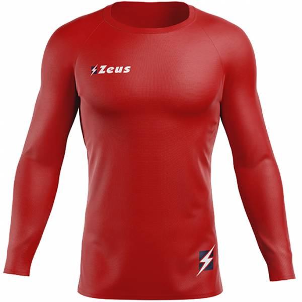 Zeus Fisiko Koszulka funkcyjna Koszulka funkcyjna z długim rękawem czerwony