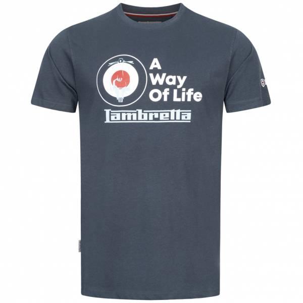 Lambretta Graphic Herren T-Shirt SS7472-NAVY