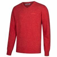 Lambretta Lambswool Sweater Herren Lammwolle Sweatshirt RWIK0045-OXBLOOD