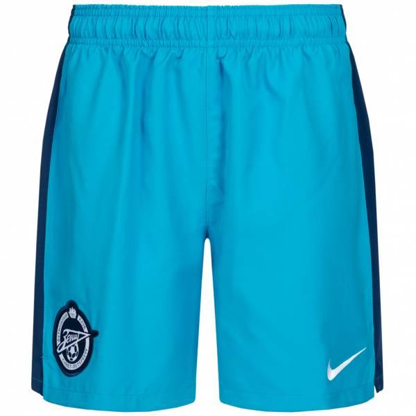 Zenit San Pietroburgo Nike Bambini Pantaloncini per il gioco in casa 389639-498