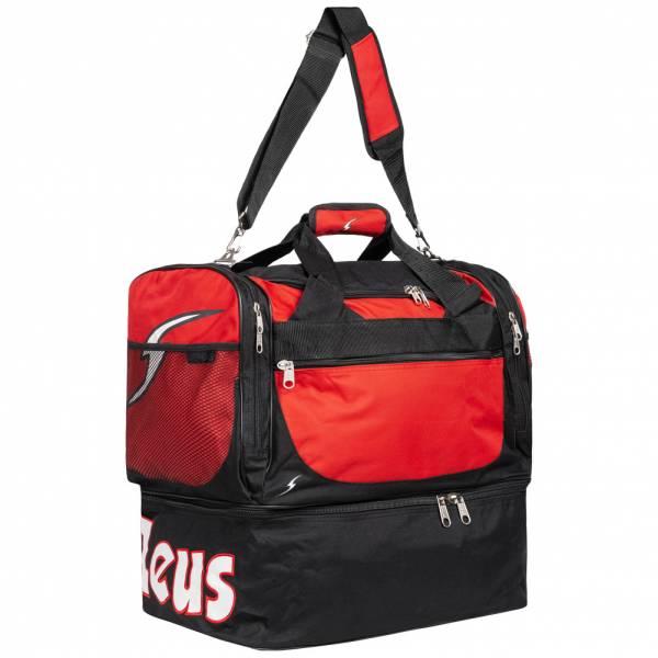 Zeus Borsa Delta Fußball Tasche Schwarz Rot
