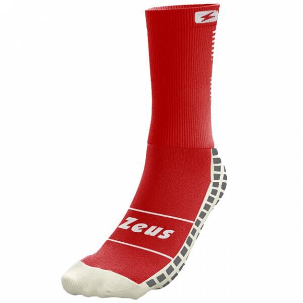 Zeus chaussettes professionnelles antidérapantes rouges