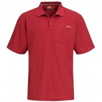 Skechers Herren Polo-Shirt Foreman red SW14510