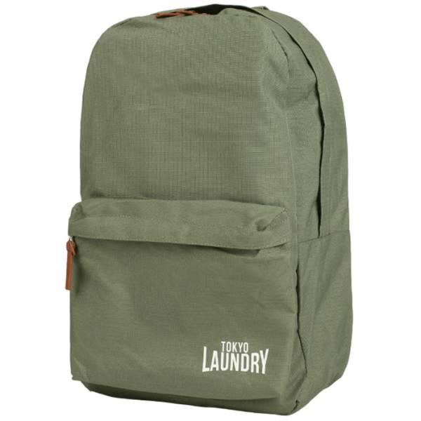 Tokyo Laundry Cross Avenue Canvas Backpack 1W11135 khaki