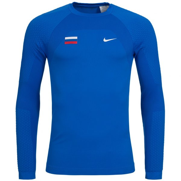 Nike Russland Seamless Baselayer Funktionsshirt 713587-460