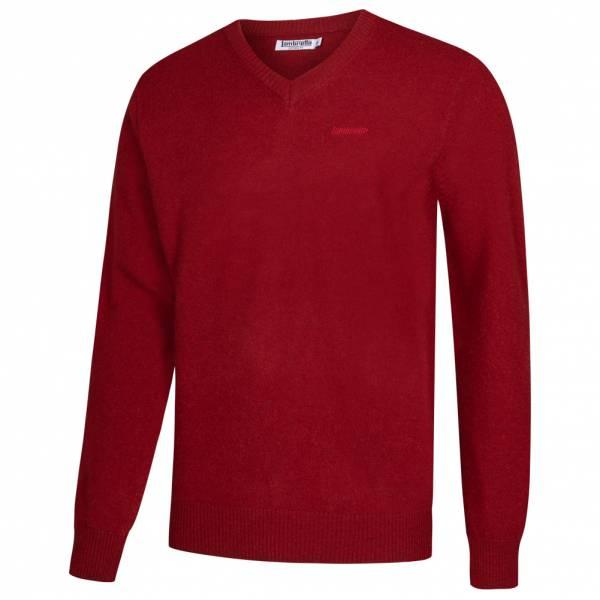 Lambretta Lambswool Sweater Herren Lammwolle Sweatshirt RWIK0045-RED