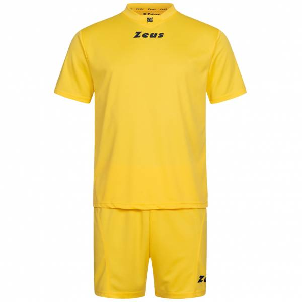 Zeus Kit Promo Ensemble de foot 2 pièces jaune