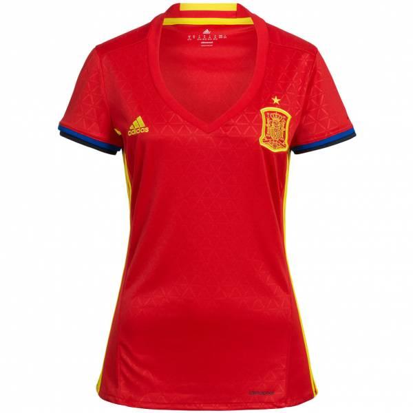 Spanien adidas Damen Heim Trikot AA0851