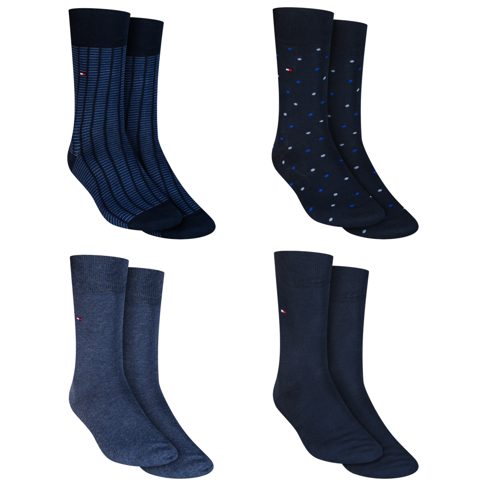 Tommy Hilfiger 4-pack Business Socks In Gift Box 392003001