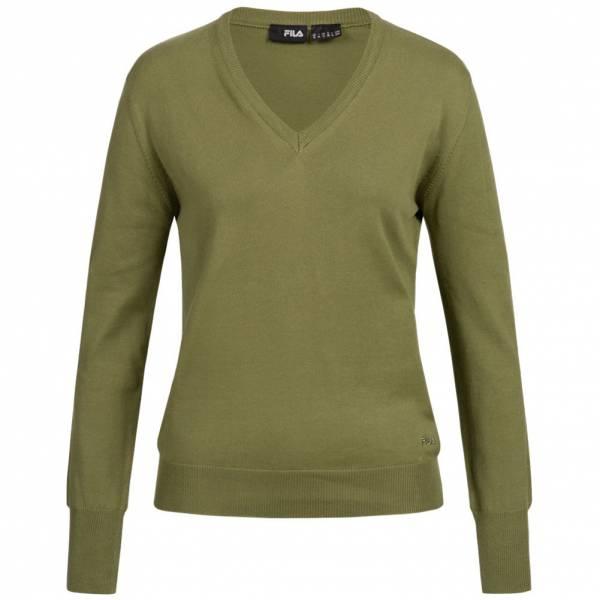 FILA Damen Jumper Retro V-Neck Sweater U89918-351