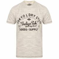 Maglietta da uomo Tokyo Laundry Prestonburg Flocked Motif 1C10893R Elefante