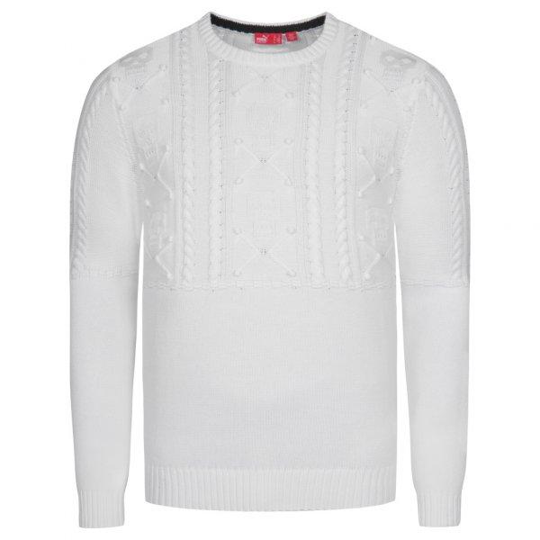 PUMA Port Sweater Herren Strick Pullover 551018-03