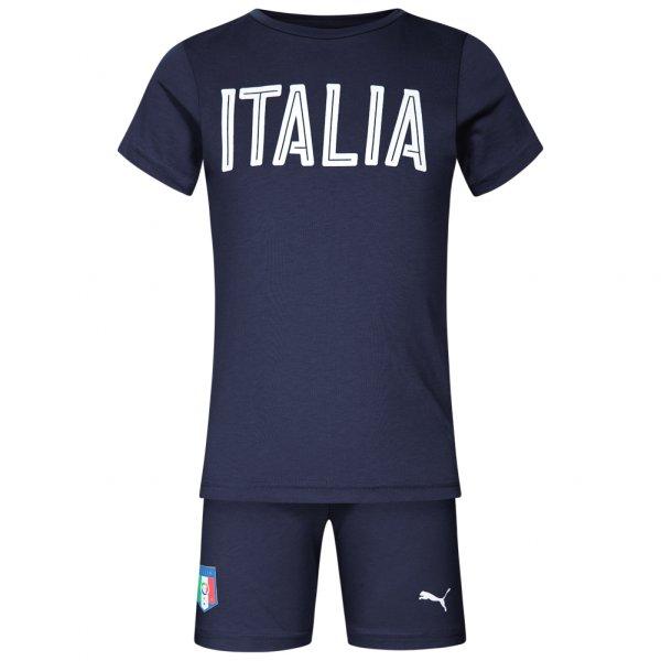 Italien PUMA Baby Set Shirt + Shorts Azzurri 750052-05