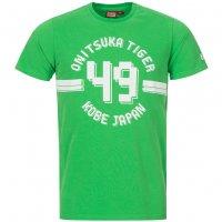 Asics Onitsuka Tiger Collegiate Tee Herren T-Shirt 121156-0440 Grün