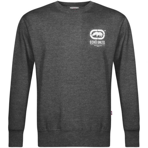 ECKO Unltd. Smart Herren Crew Sweatshirt ESK4163 Charcoal