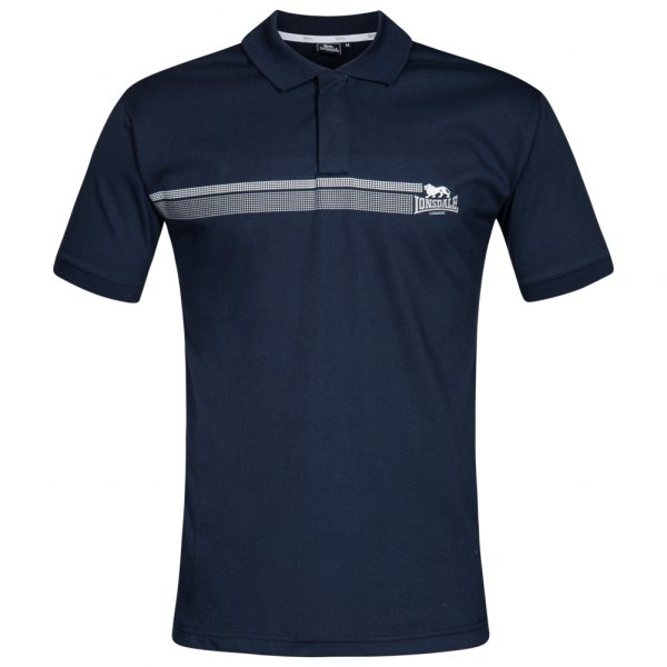 Lonsdale London Herren Polo-Shirt navy