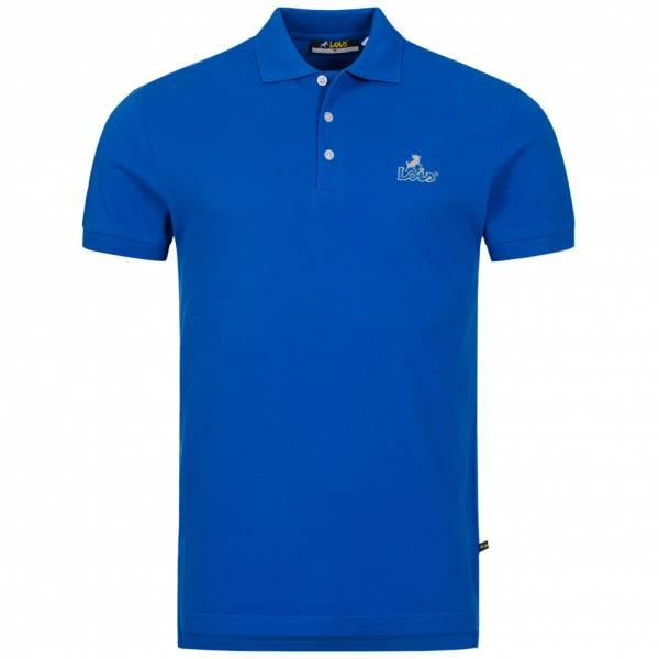 Lois Jeans Herren Polo-Shirt 4E-LPSM-Blue