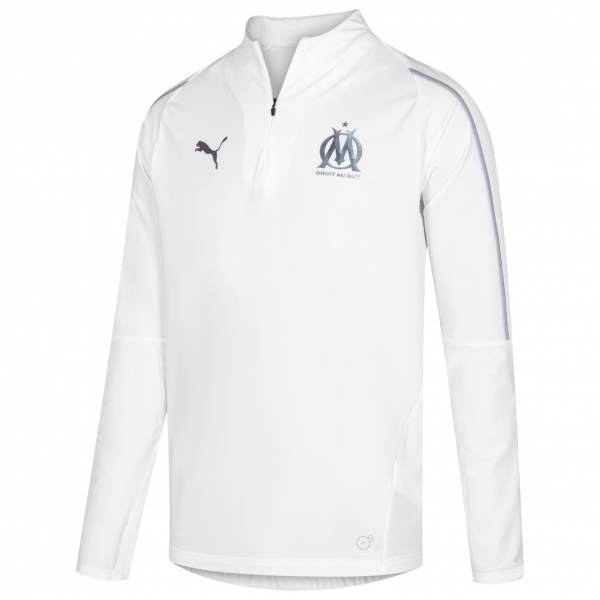 Olympique Marseille PUMA 1/4-Zip Trainings Sweatshirt 753984-05