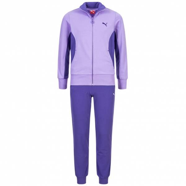 PUMA Jersey Stretch Suit Mädchen Jogginganzug 829347-02