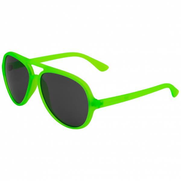 MSTRDS Aviator UV400 Okulary przeciwsłoneczne pilotki 10455 neonowy zielony
