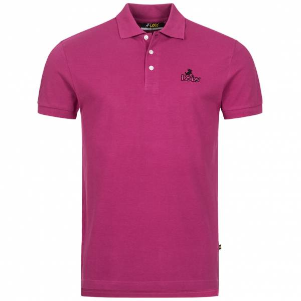 Lois Jeans Herren Polo-Shirt 4E-LPSM-Cherry