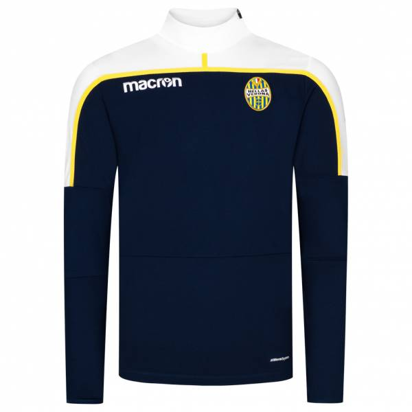 Hellas Verona macron Herren 1/4-Zip Trainings Sweatshirt 58029110