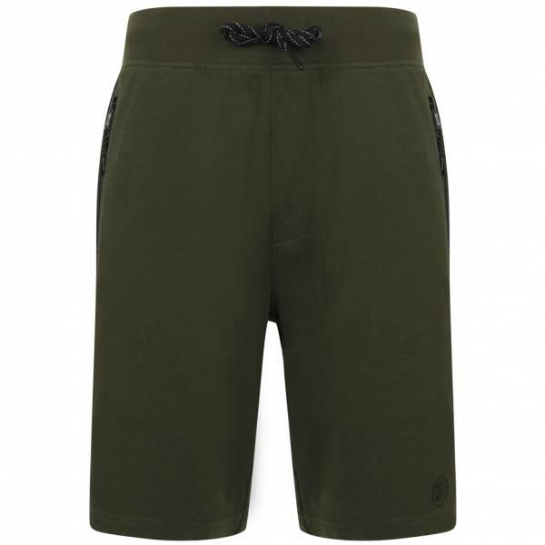DNM Dissident Matsuo Hombre Pantalones cortos de felpa 1G12422 Verde