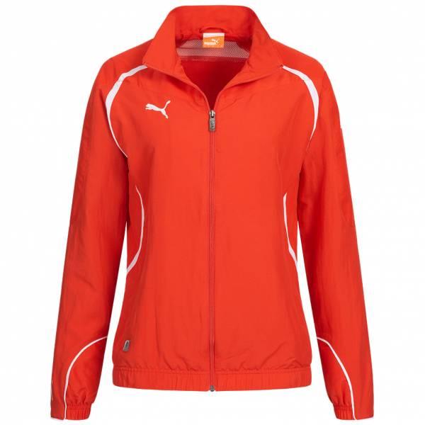 PUMA PowerCat 1.10 Woven Jacket Damen Trainingsjacke 652095-01