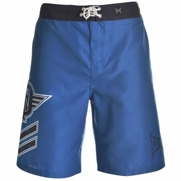 Tapout Herren Fight Shorts blau
