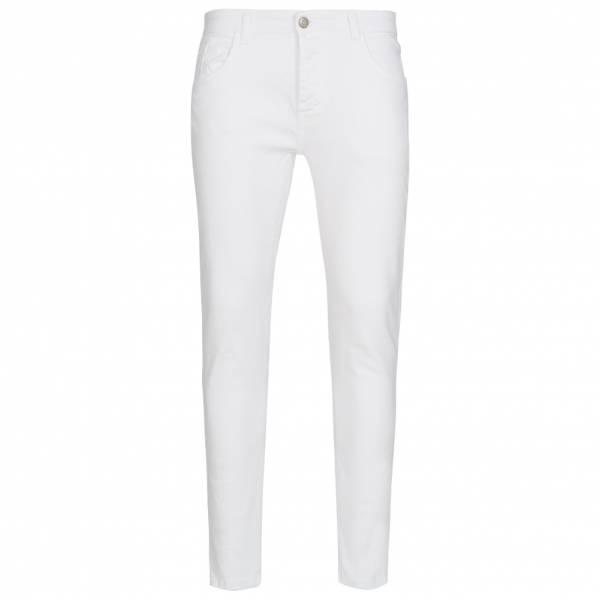 BRAVE SOUL Artic White Skinny Herren Jeans MJN-ARCTIC